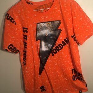 "Men's Retro Jordan ""Be like Mike"" Tee Shirt Sz: M"